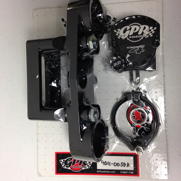 GPR V4 Dirt Fat Bar Pro Kit Steering Stabilizer for Kawasaki KX450F (2008), Part # 9011-0050, Multiple Colors Available