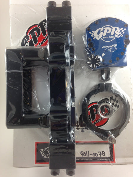 GPR V4 Dirt Fat Bar Pro Kit Steering Stabilizer for Yamaha WR450F (2012-2015), Part # 9011-0078, Multiple Colors Available
