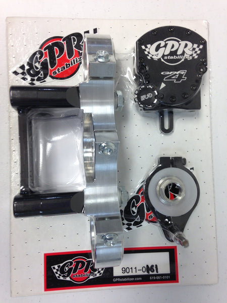 GPR V4 Dirt Fat Bar Pro Kit Steering Stabilizer for KTM SX 85 (All Years), Part # 9011-0161, Multiple Colors Available