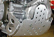 Flatland Racing Aluminum Skid Plate for Honda CRF450R (2005-2008), Part #24-31