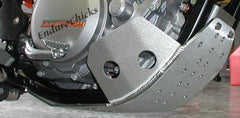 Flatland Racing Aluminum Skid Plate for KTM EXC/XCF-W 350 (11-15) & SXF 350 (11-12), Part #24-58