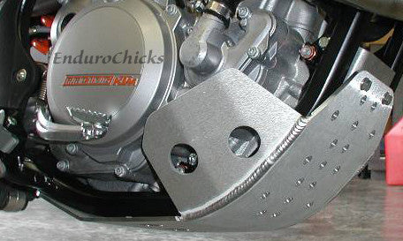 Flatland Racing Aluminum Skid Plate for KTM SXF/XCF 250 (11-15), XCF-W 250 (12-15) & SXF 350 (13-15), Part #24-59