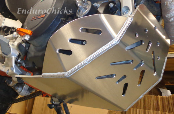 Flatland Racing Aluminum Skid Plate for Honda CRF250L (2013-2015), Part #24-67