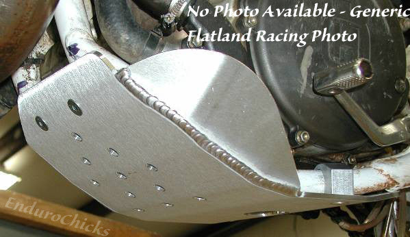 Flatland Racing Aluminum Skid Plate for Yamaha YZ250F (2000-2005), Part #24-05