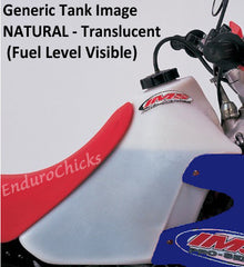 IMS Fuel Tank - Screw Cap - Natural with Fuel Level Visible