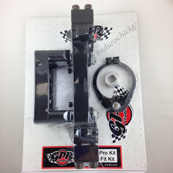 GPR V4 Dirt Fat Bar Pro Kit Steering Stabilizer for Honda CRF450R (2009-2012), Part # 9011-0056, Multiple Colors Available