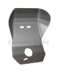 Ricochet Anodized Aluminum Skid Plate for Honda CR80 (1998-1999), Part #101, Multiple Colors Available