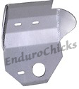 Ricochet Anodized Aluminum Skid Plate for Honda CR125 (1999), Part #103, Multiple Colors Available