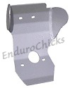 Ricochet Anodized Aluminum Skid Plate for Honda CR125 (2000-2001), Part #104, Multiple Colors Available