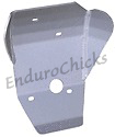 Ricochet Anodized Aluminum Skid Plate for Honda CR125 (2002-2007), Part #105, Multiple Colors Available