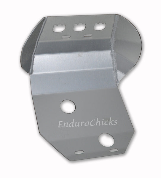 Ricochet Anodized Aluminum Skid Plate for Husqvarna WXE 610/510/410 (1986-1997), Part #209, Multiple Colors Available
