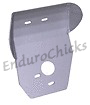 Ricochet Anodized Aluminum Skid Plate for Kawasaki KX250 (1990-1991), Part #225, Multiple Colors Available