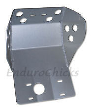 Ricochet Anodized Aluminum Skid Plate for Kawasaki KLR650 (1988-2007), Part #230, Multiple Colors Available