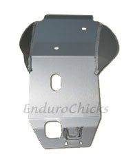 EnduroChicks - Shop for Ricochet Skid Plate Part #236 - KTM SX/MXC/EXC 250/400/450/520/521/525 (2000-2003), Part #236