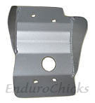 Ricochet Anodized Aluminum Skid Plate for Suzuki RM125 (2001-2008), Part #239, Multiple Colors Available