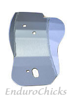 Ricochet Anodized Aluminum Skid Plate for Kawasaki KX125 (2003-2005), Part #242, Multiple Colors Available