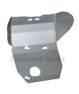 Ricochet Anodized Aluminum Skid Plate for Yamaha TTR250 (All Years), Part #250, Multiple Colors Available