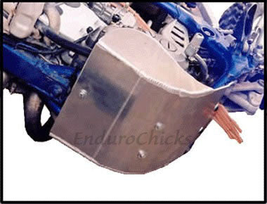 EnduroChicks - Shop for Ricochet Skid Plate Part #252 - Mounting pic1 - Yamaha WR250F (2002-2006)