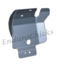 Ricochet Anodized Aluminum Skid Plate for Kawasaki KX250 (2005-2007), Part #257, Multiple Colors Available