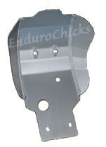Ricochet Anodized Aluminum Skid Plate for Kawasaki KX250F (2006-2008), Part #262, Multiple Colors Available