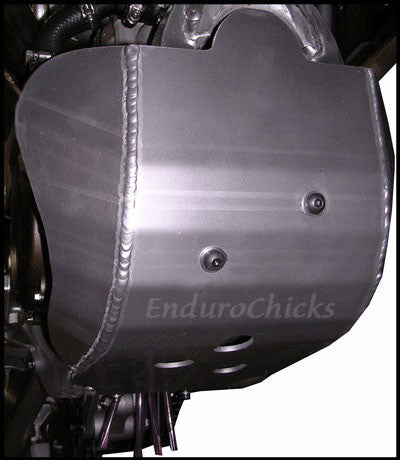 EnduroChicks - Shop for Ricochet Skid Plate Part #263 - Mounting pic2 - Kawasaki KX450F (2006-2015) and KLX450R (2006-2008)