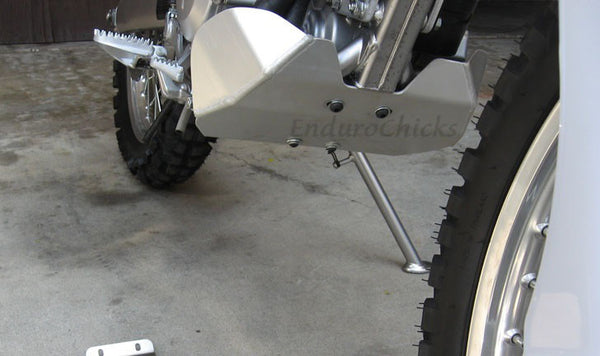 EnduroChicks - Shop for Ricochet Skid Plate Part #266 - Mounting pic3 -Kawasaki KLX300 (1997-2008) & KLX250S (2006-2015)