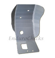 Ricochet Anodized Aluminum Skid Plate for KTM XC-F/XCF-W 250 (2007), Part #268, Multiple Colors Available