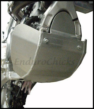 EnduroChicks - Shop for Ricochet Skid Plate Part #272 - Mounting pic 2 - Yamaha WR450F (2007-2011)
