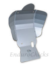 Ricochet Anodized Aluminum Skid Plate for Yamaha WR450F (2007-2011), Part #272, Multiple Colors Available
