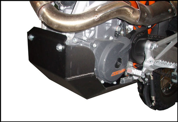 EnduroChicks - Shop for Ricochet Skid Plate Part #280 - Mounting Pic 1 - KTM 690 Enduro R (2009-2013)