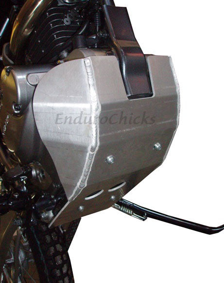 EnduroChicks - Shop for Ricochet Skid Plate Part #282 - Mounting pic 2 -  Suzuki DR200 (All Years)