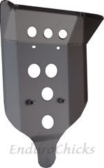 Ricochet Anodized Aluminum Skid Plate for BMW R1200GS (2008-2012), Part #285, Available in Multiple Colors