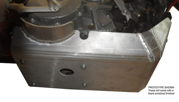 EnduroChicks - Shop for Ricochet Skid Plate Part #288 - Mounting Pic 2 - KTM 950 Super Enduro (2006-2011), Part #288