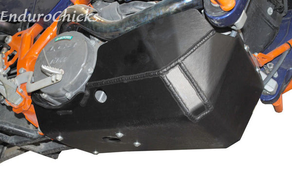 EnduroChicks - Shop for Ricochet Skid Plate Part #292 - Mounting Pic 1 - KTM 990 Adventure (2006-2014)