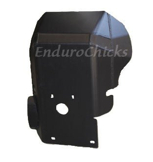 Ricochet Anodized Aluminum Skid Plate for KTM 990 Adventure (2006-2014), Part #292, Multiple Colors Available