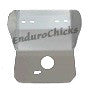 Shop EnduroChicks-Ricochet Skid Plates Part #406 - Anodized Colors Gold Gun Metal, Blue, Orange, Red, Black