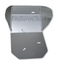 Ricochet Anodized Aluminum Skid Plate for Honda XR400R (1996-2004), Part #411, Multiple Colors Available