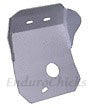 Ricochet Anodized Aluminum Skid Plate for Honda CR500 (1990-2001), Part #433, Multiple Colors Available