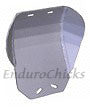 Ricochet Anodized Aluminum Skid Plate for Yamaha WR500 (1991-1993), Part #437, Multiple Colors Available