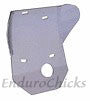 Ricochet Anodized Aluminum Skid Plate for Suzuki DR250 & DR350 (1990-1999), Part #442, Multiple Colors Available