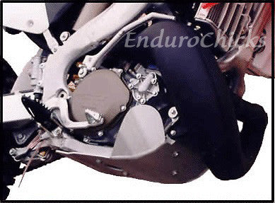 EnduroChicks - Shop for Ricochet Skid Plate Part #450 - Mounting pic1- Honda CR250 (1994-1996)