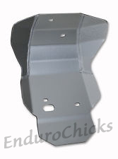 Ricochet Anodized Aluminum Skid Plate for Honda CRF450R (2002-2004), Part #454, Multiple Colors Available