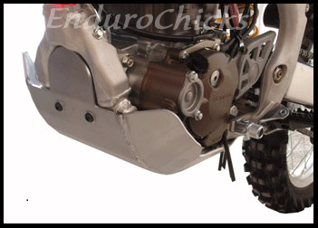 EnduroChicks - Shop for Ricochet Skid Plate Part #456X- Mounting pic1 - Honda CRF250R (2004-2009) & CRF250X (2004-2015)
