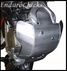 EnduroChicks - Shop for Ricochet Skid Plate Part #457 - Mounting pic2- Honda CRF450R (2005-2008)