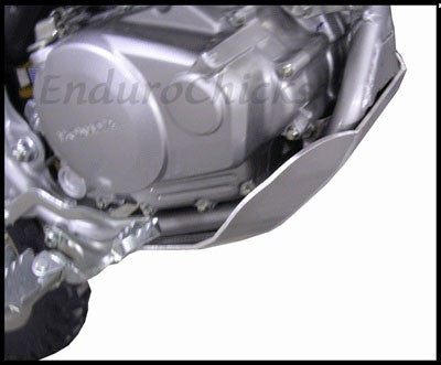 EnduroChicks - Shop for Ricochet Skid Plate Part #459 -  Mounting pic1 - Honda CRF150F (2006-2015)