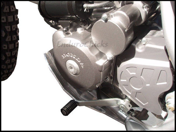 EnduroChicks - Shop for Ricochet Skid Plate Part #462 - Mounting pic 2 - Honda CRF230L (2008-2012)