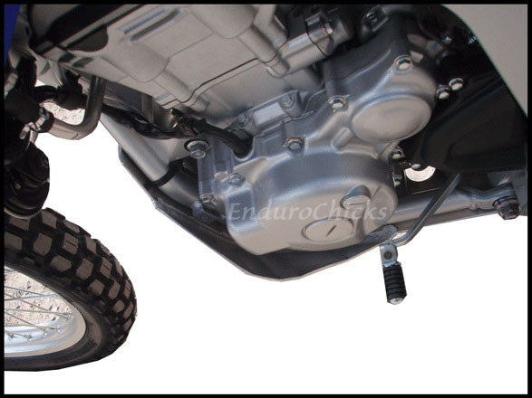 EnduroChicks - Shop for Ricochet Skid Plate Part #463 - Mounting pic 2 - Yamaha WR250R & WR250X (2008-2015)