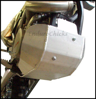EnduroChicks - Shop for Ricochet Skid Plate, Part #465 - Mounting Pic 2 - Various KTM models (2009-2011)