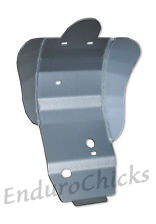 Ricochet Anodized Aluminum Skid Plate for Honda CRF250R (2010-2013), Part #470, Multiple Colors Available