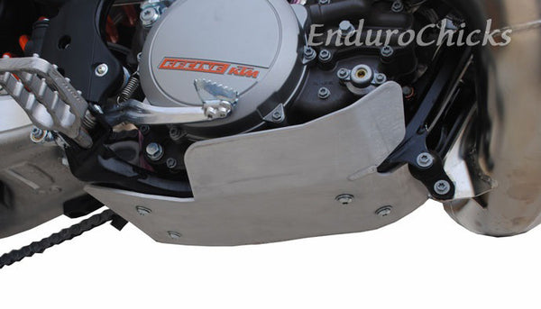 EnduroChicks - Shop for Ricochet Skid Plate, Part #482 - Mounting Pic 3 - KTM & Husqvarna models